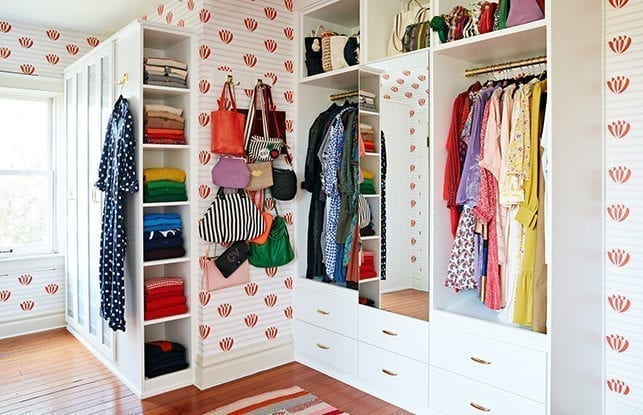 Fashion designer Clare Vivier's boutique-inspired dream closet