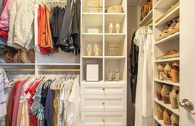 An Optimized Closet for Fashion Blogger Vanessa Krombeen