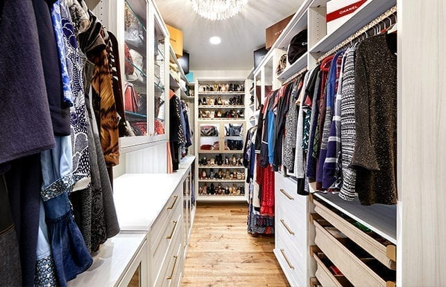 A Closet with it all  for TV Anchor Cindy Brunson