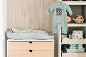A Darling Nursery Closet for Blogger Emily Nolan