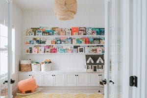A Practical, Pretty Playroom for Blogger Sydney Gerten