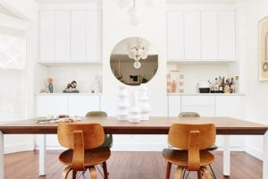 A Reimagined Dining Room for Lonny magazine's Editorial Director Angela Tafoya
