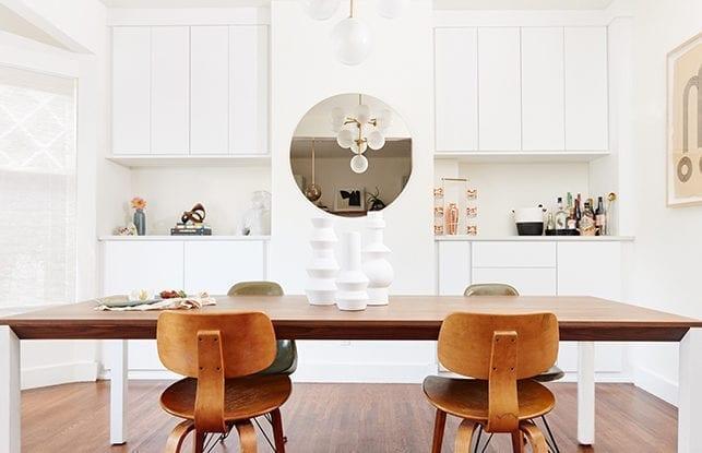 A Reimagined Dining Room for <i>Lonny</i> magazine's Editorial Director Angela Tafoya