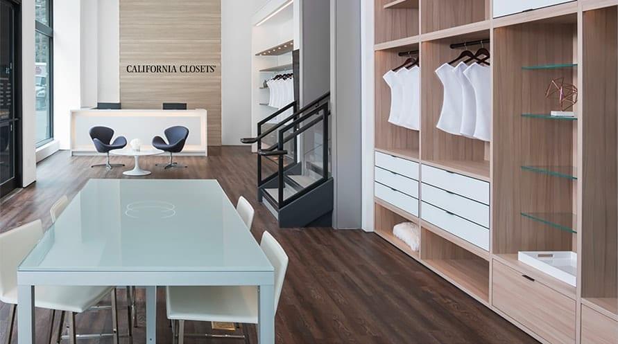 Showrooms | California Closets