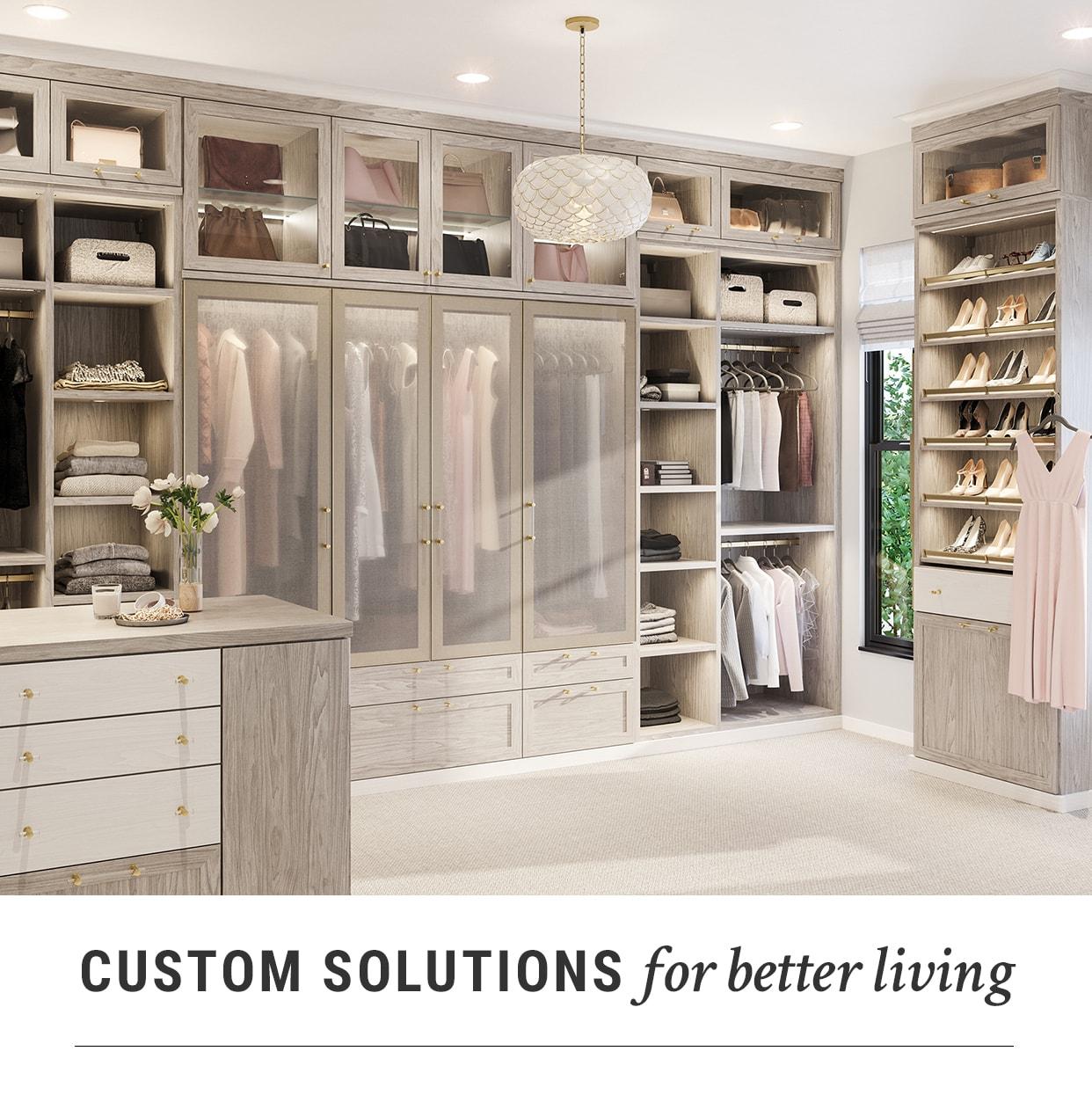 Custom Closet Systems, Home Storage & Closet Designs | California ...