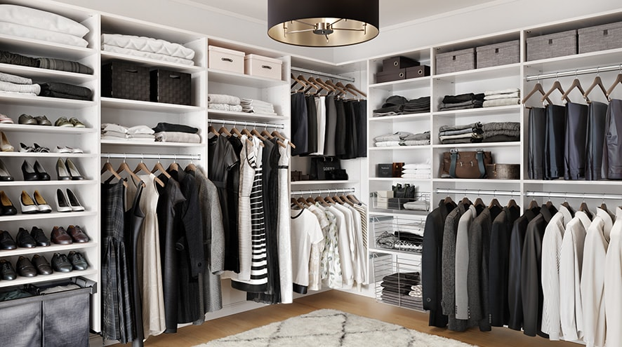 Hamlin Walk-in | California Closets