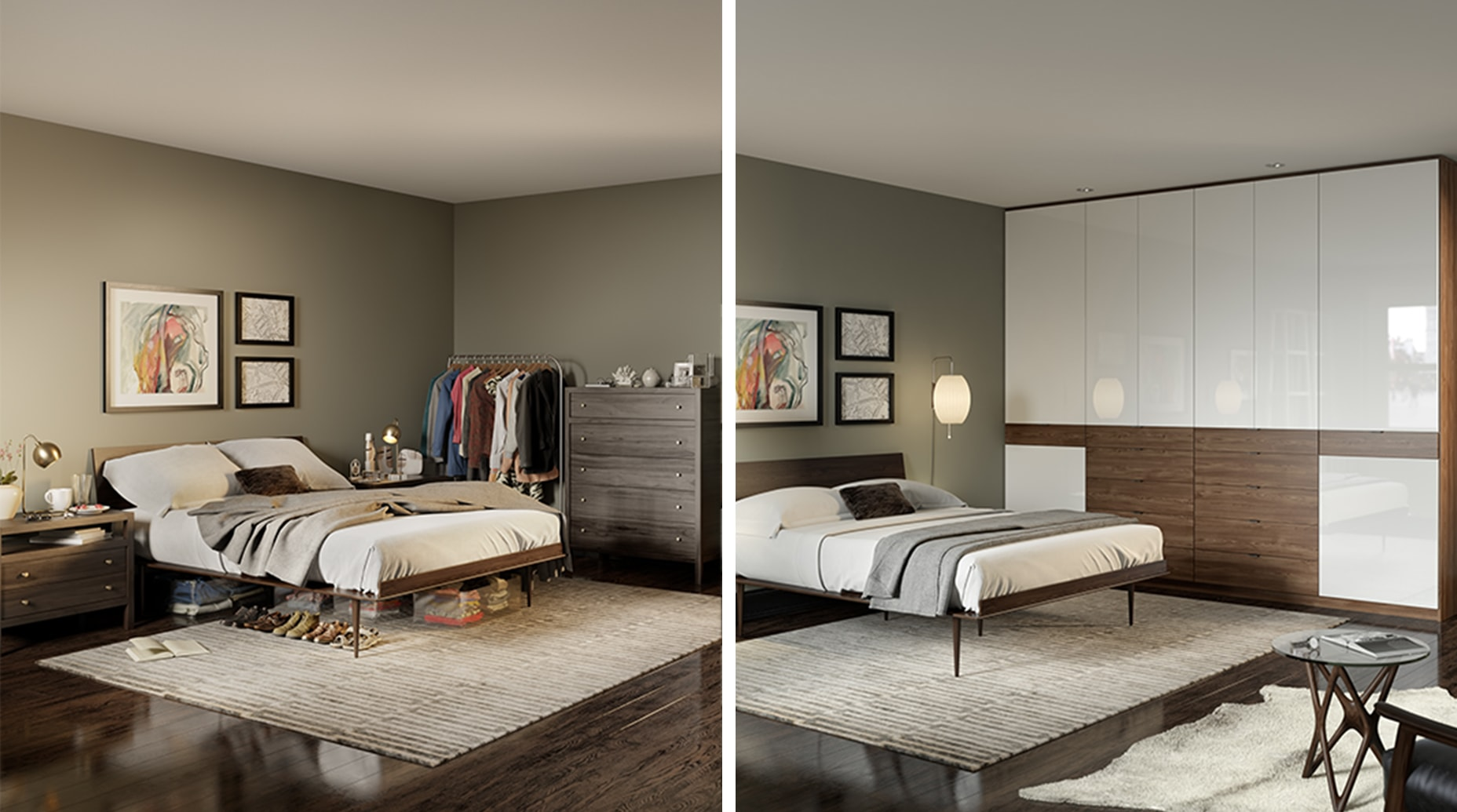 Before and After | California Closets