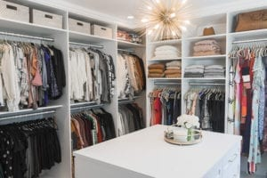 A Closet in Order for Lifestyle Blogger Kristen Lawler